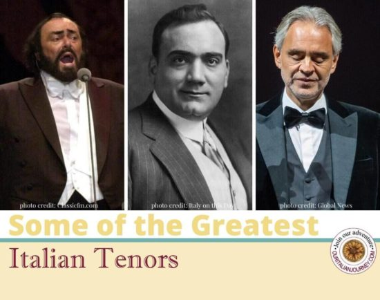 Greatest Italian Tenors, ouritalianjourney.com