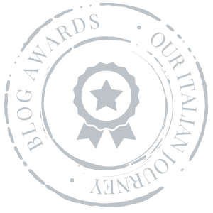 Blog awards for Our Italian Journey, ouritalianjourney.com