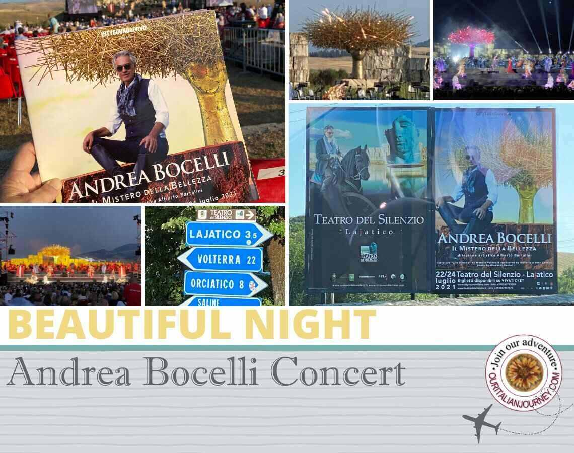 A Beautiful Night Under the Stars with Andrea Bocelli in Italy - ouritalianjourney.com