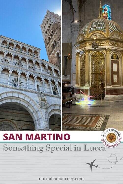 San Martino - the beautiful cathedral in Lucca, Italy - ouritalianjourney.com