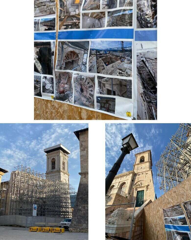 Norcia in July 2021 -5 years after earthquake - ouritalianjourney.com