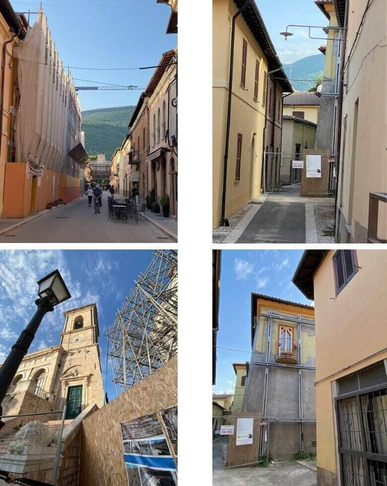 Norcia in 2021 - 5 years after earthquake - ouritalianjourney.com