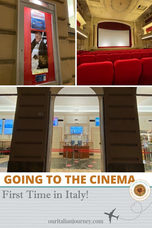 Going to the cinema for the first time in Italy - ouritalianjourney.com